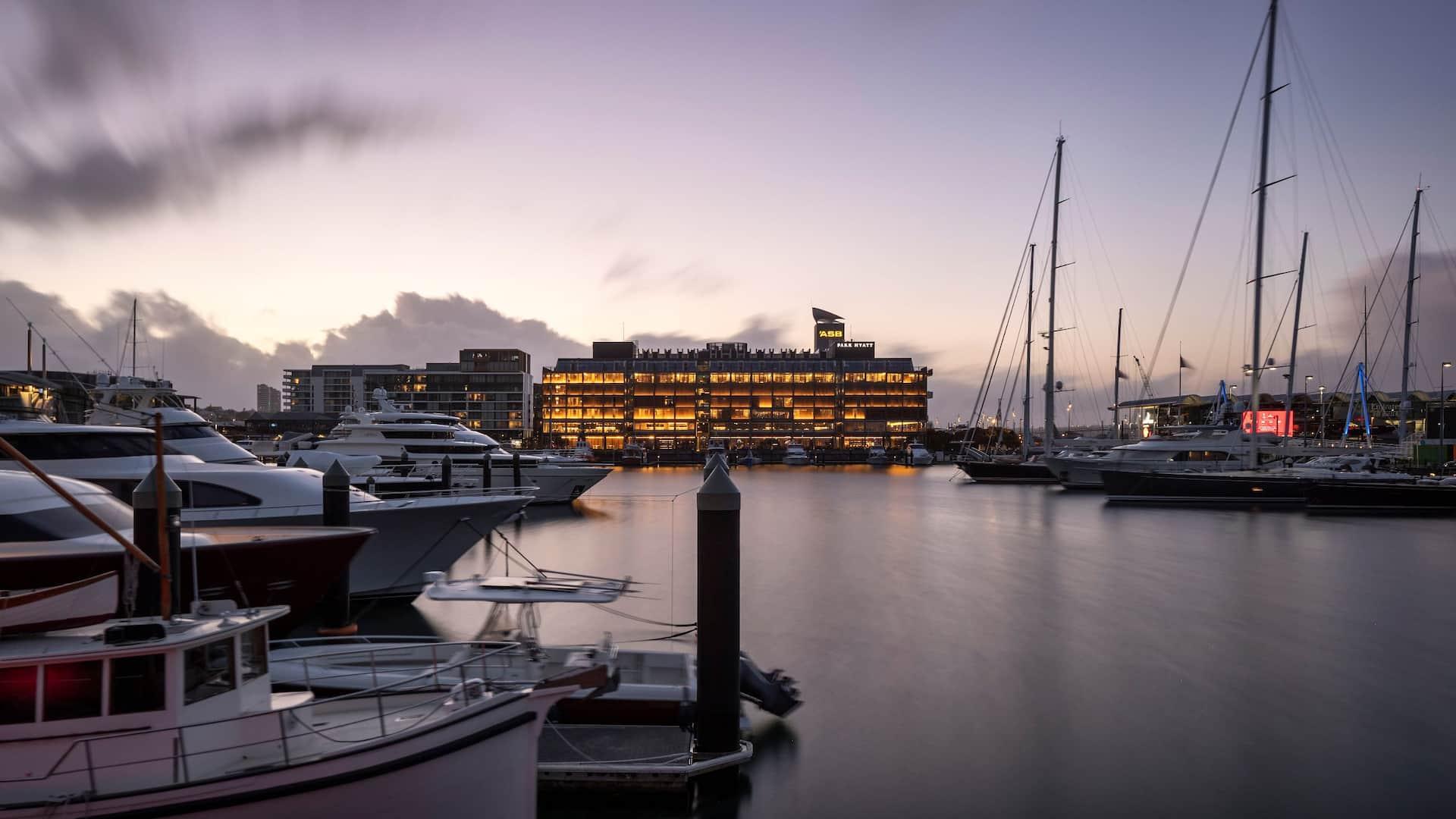 Park Hyatt Auckland Exterior
