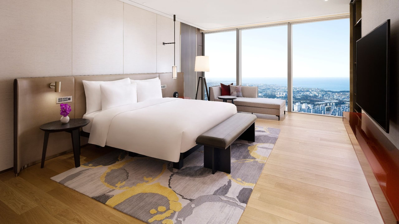 Corner Suite Sea View with 1 King Bed at Grand Hyatt Jeju