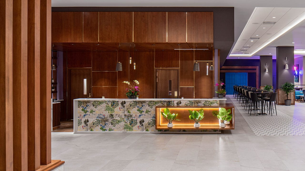 Front Desk  at Hyatt Place Tampa Downtown