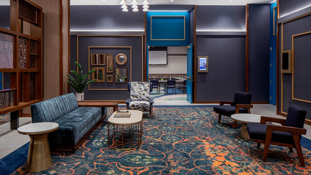 Prefunction Space at Hyatt Place Tampa Downtown