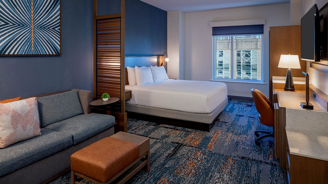 One King Bed Guestroom at Hyatt Place Tampa Downtown