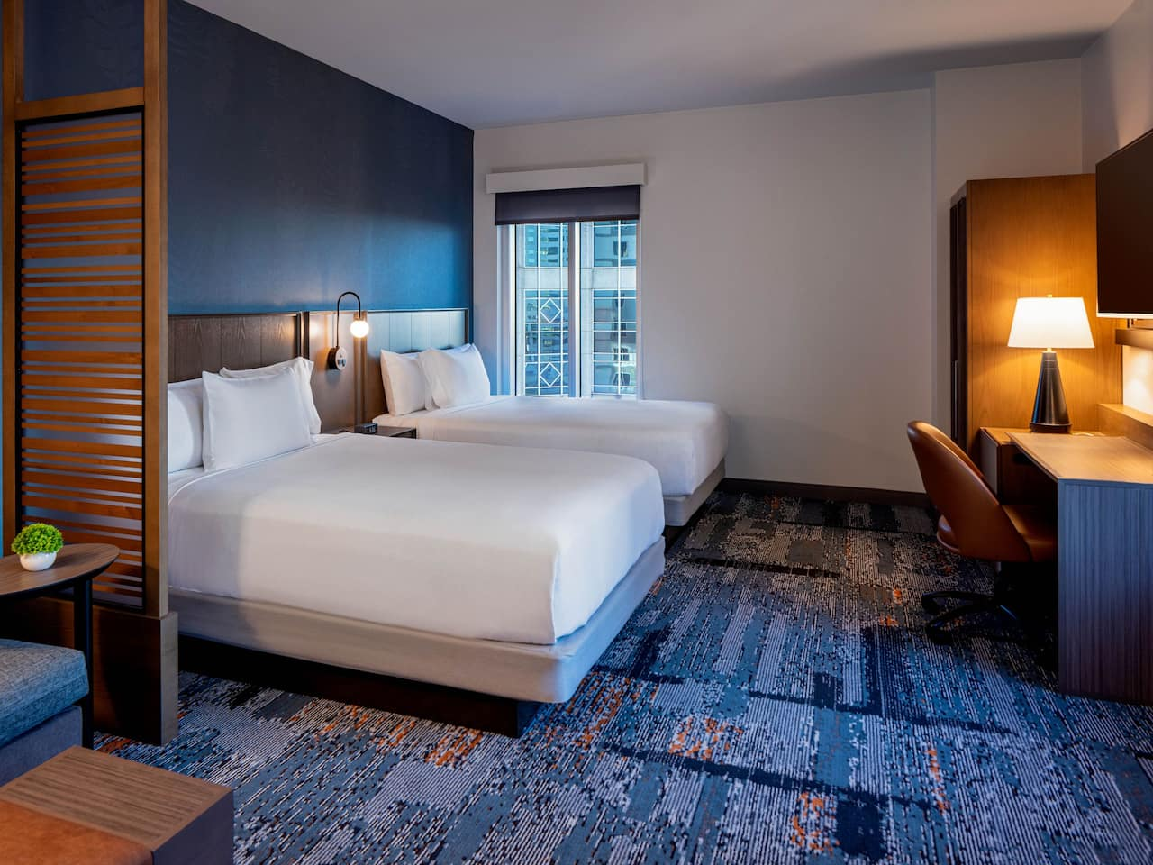 Two Queen Beds Guestroom at Hyatt Place Tampa Downtown