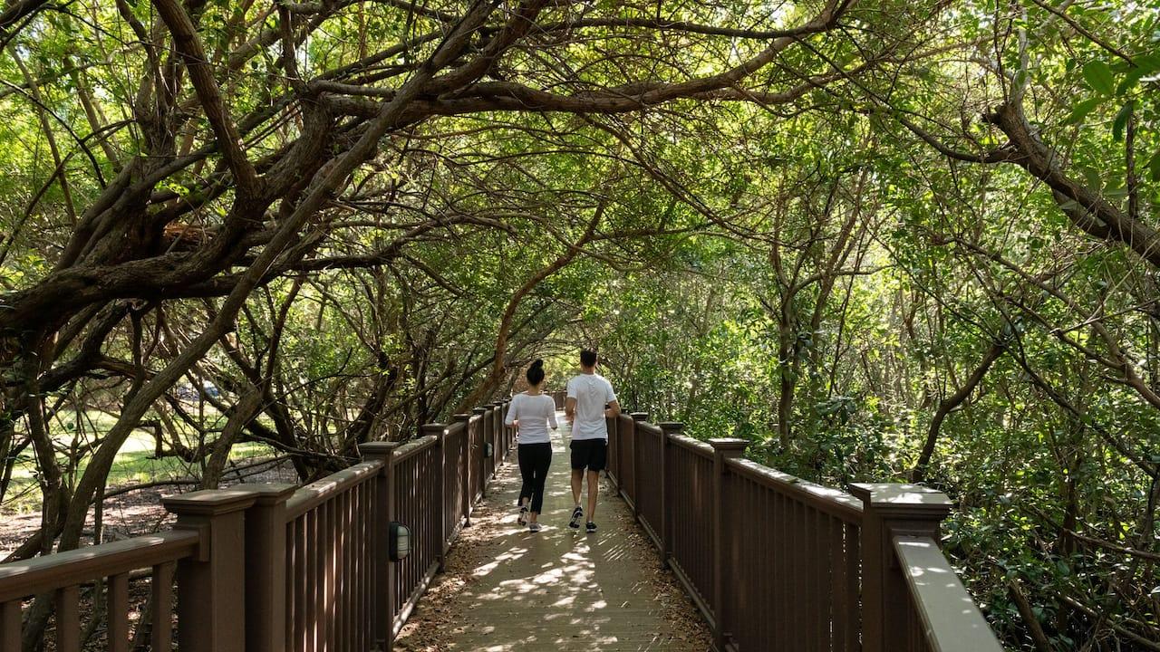 Nature Walk Couple