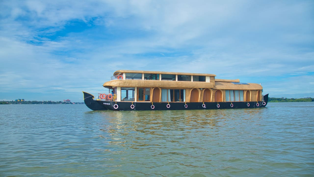 Luxury houseboat of Grand Hyatt Kochi