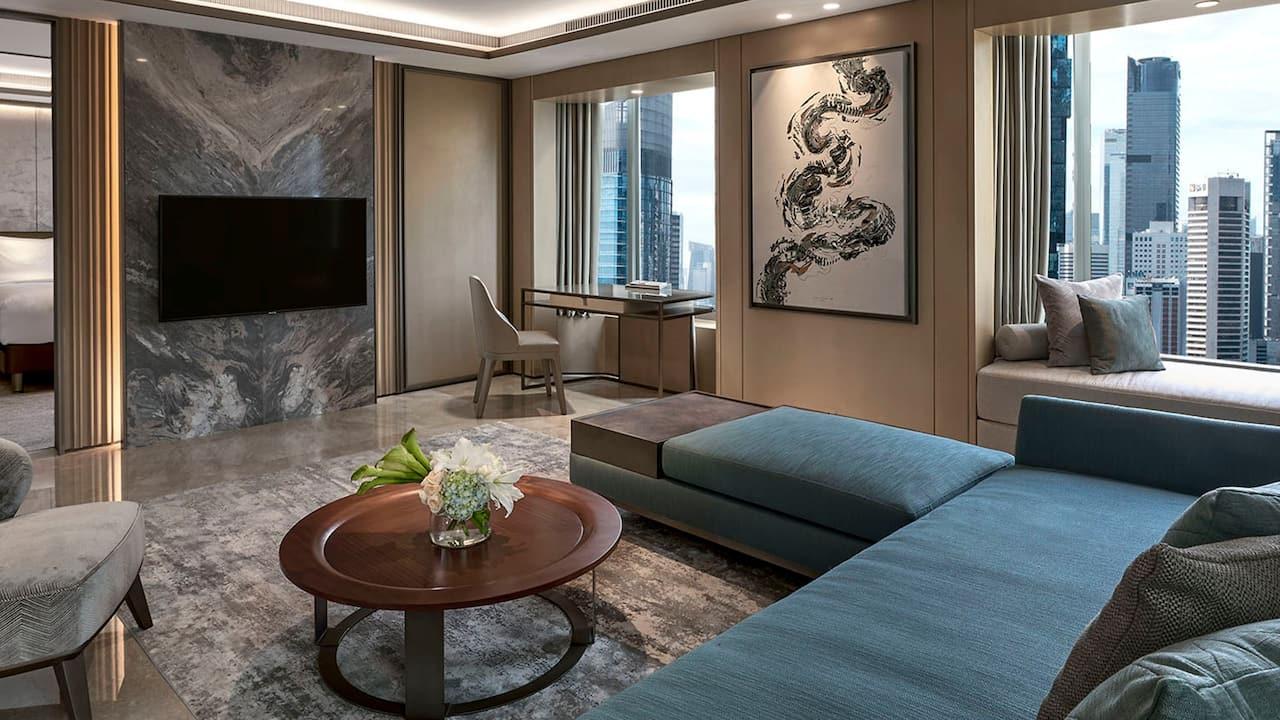 Jakarta Hotel Suites, Diplomatic Suite The Grand Hyatt Hotel, Jakarta