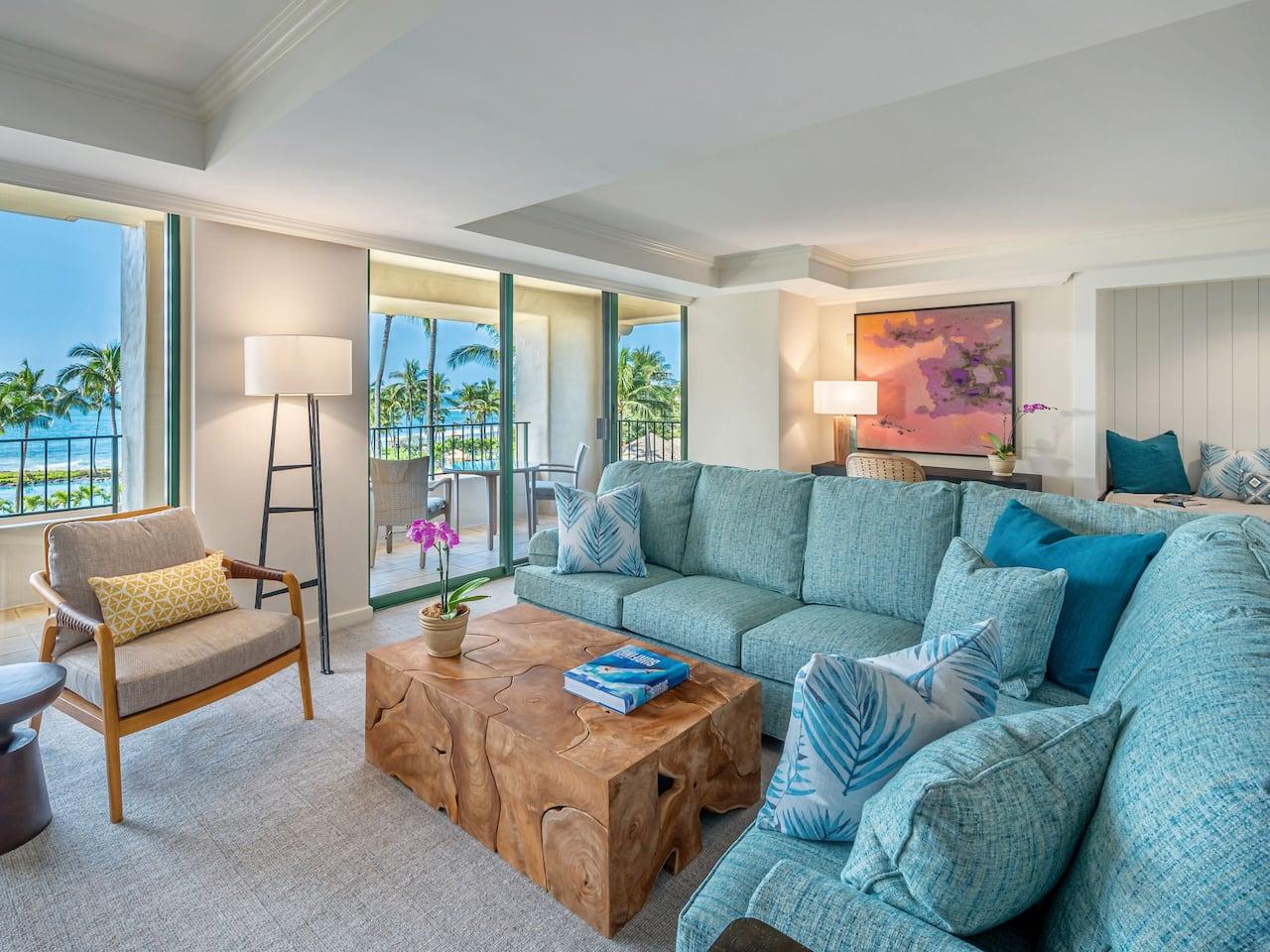 Kauai Royal Suite Living View