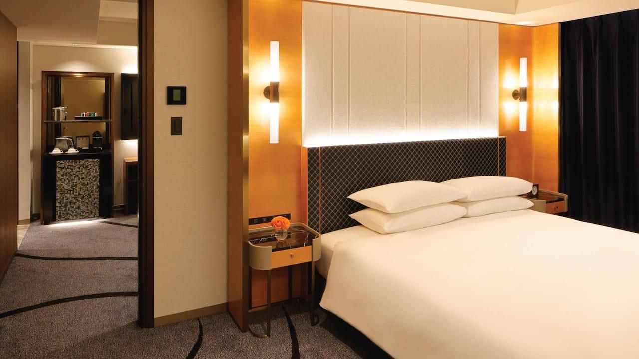 Regency Suite King Bedroom Minibar