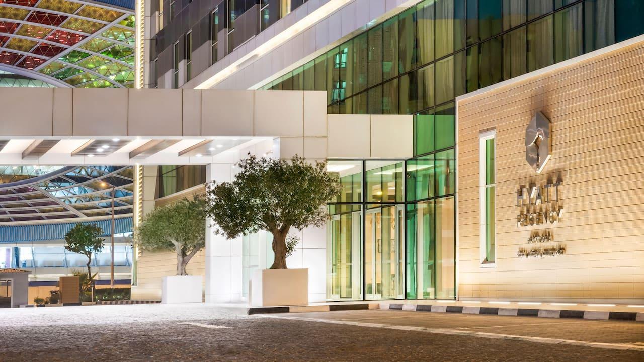 Hyatt Regency Oryx Doha Hotel Entrance