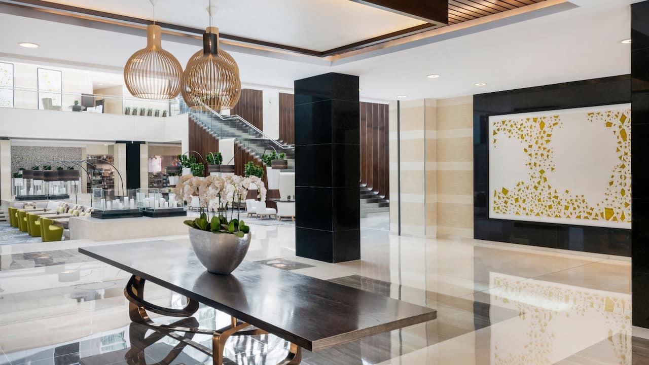 Hyatt Regency Oryx Doha Lobby