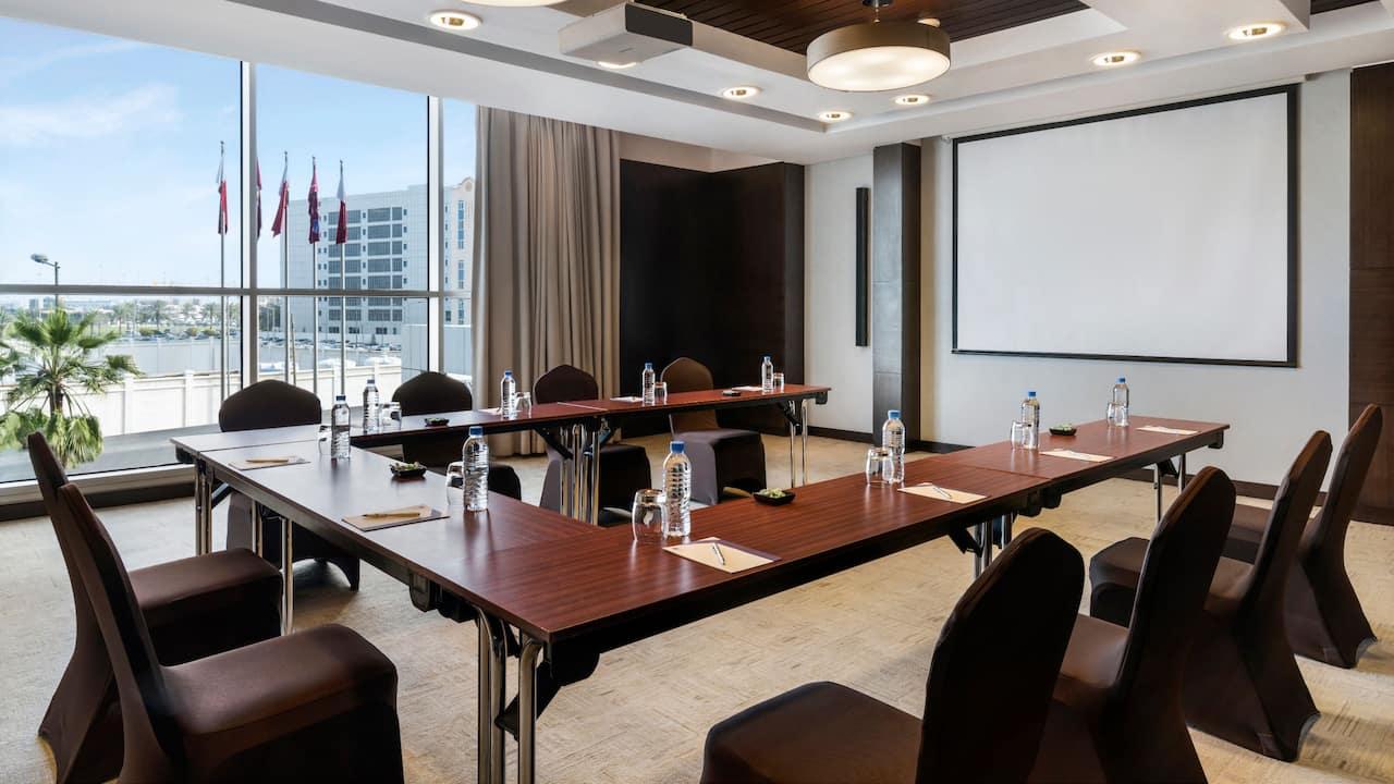 Hyatt Regency Oryx Doha Meeting Room Ushape Setup