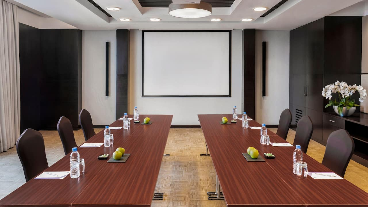 Meeting Room Boardroom Setup