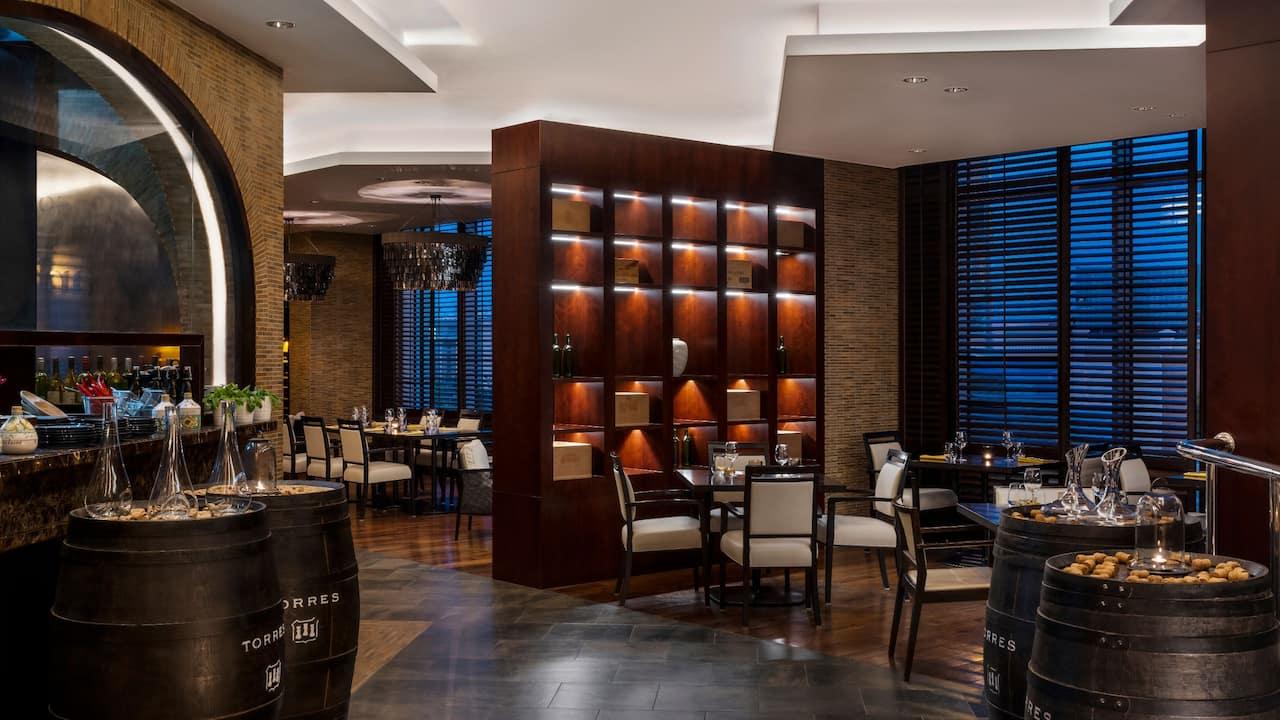 Hyatt Regency Oryx Doha Cellar Restaurant