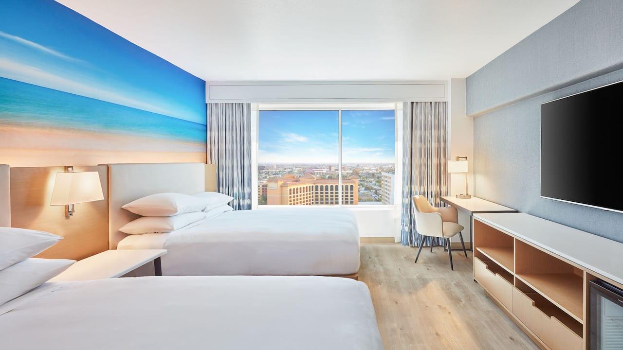 Two Queen Deluxe Guestroom