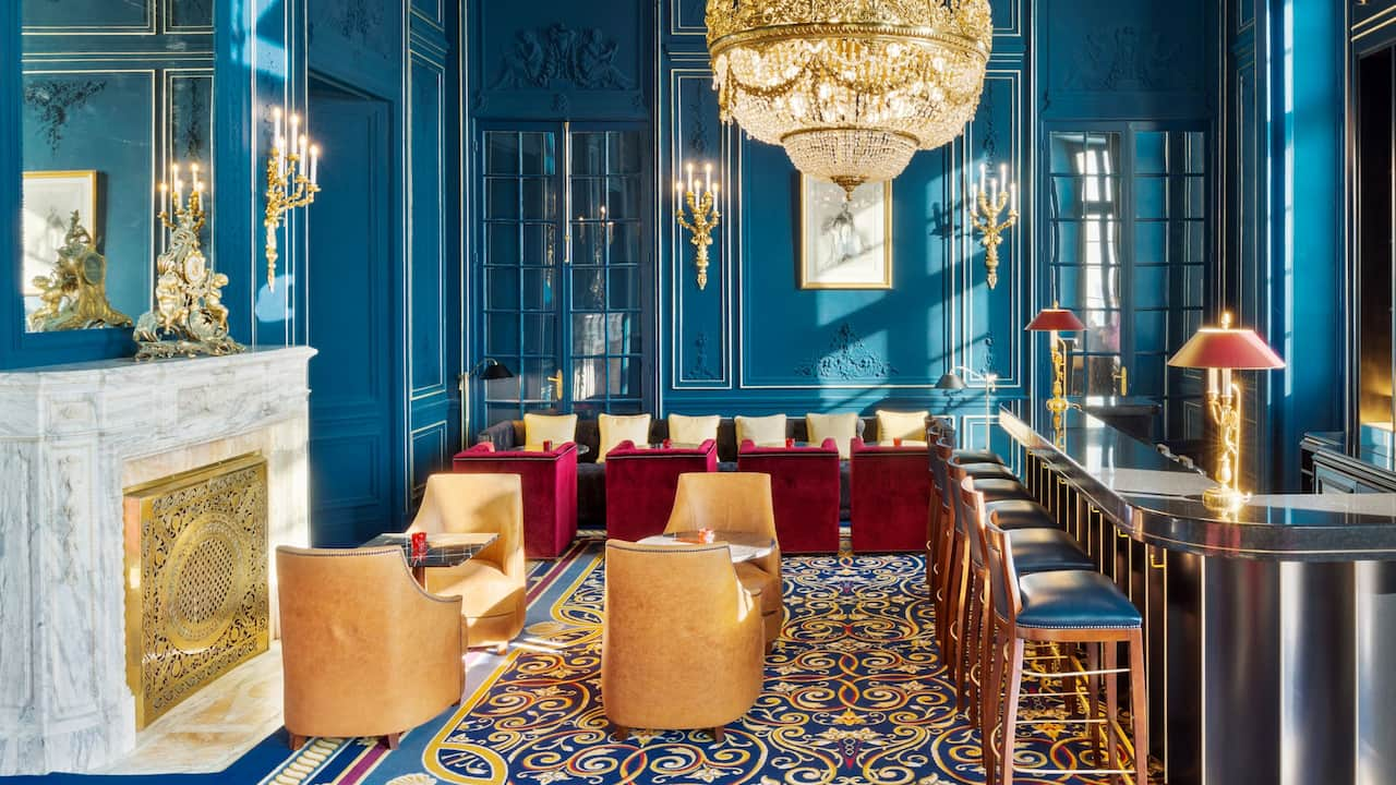 Bar Napoleon III Overview Hotel du Palais Biarritz Chic and Luxury