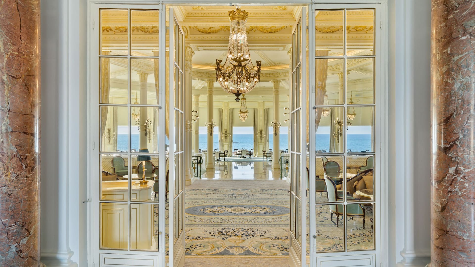 La Rotonde Restaurant - Hôtel du Palais in Biarritz - Top Restaurant