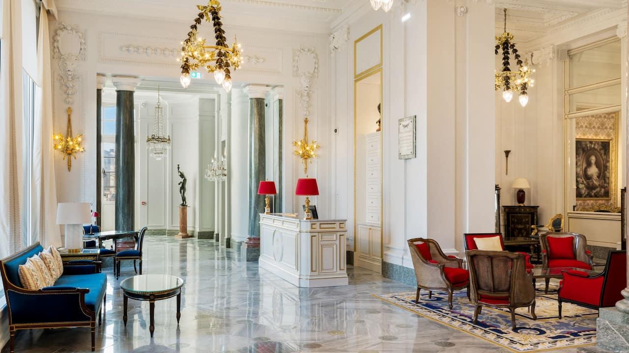Lobby Concierge Desk Hotel du Palais Biarritz