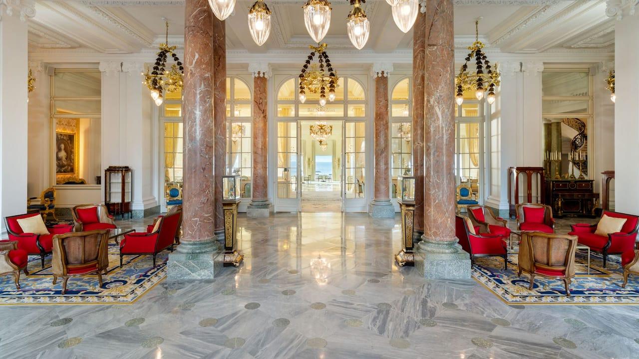 Hotel Lobby Hotel du Palais Biarritz