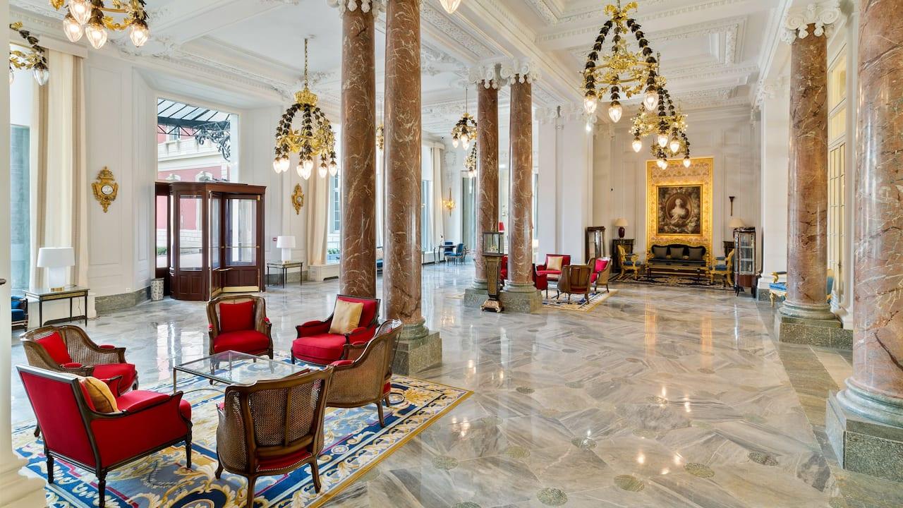 Lobby View Hotel du Palais Biarritz
