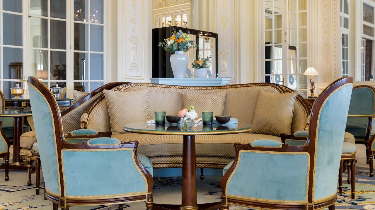 Lounge Tea Time at Hotel du Palais Biarritz