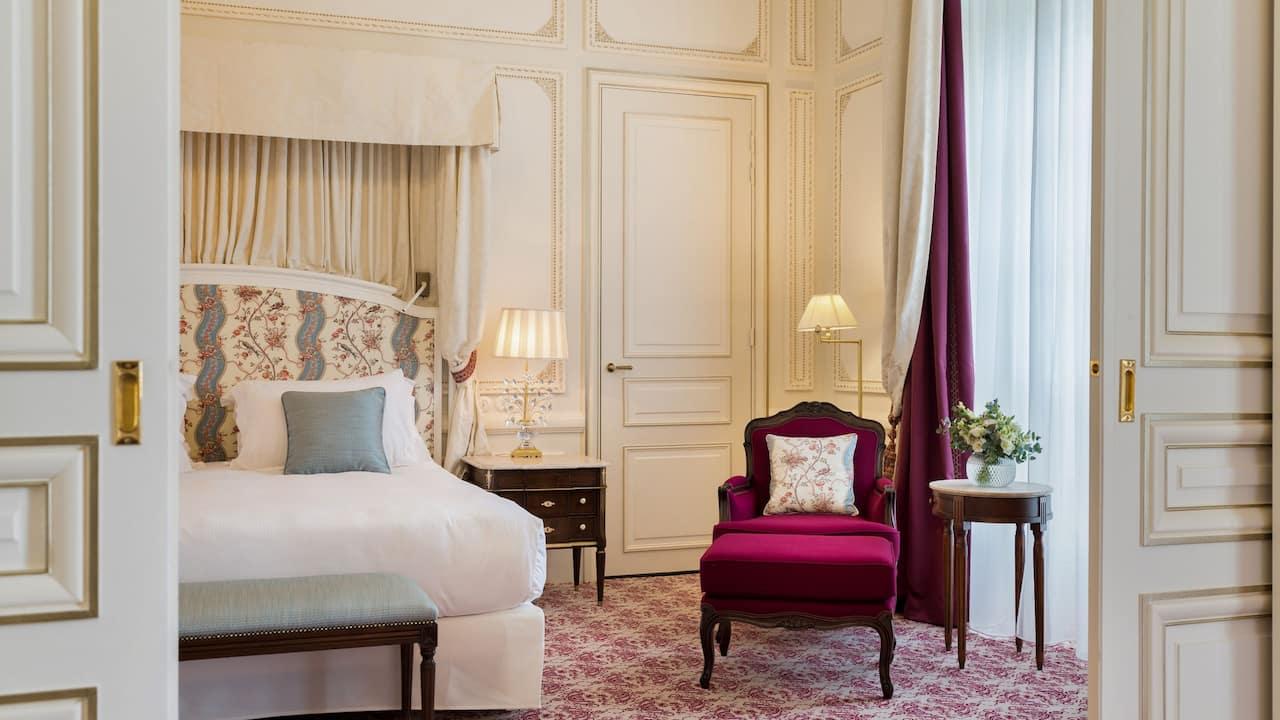 Suite Details at Hotel du Palais Biarritz
