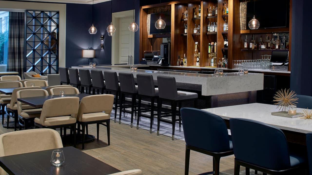 Barrel Room Bar Seating