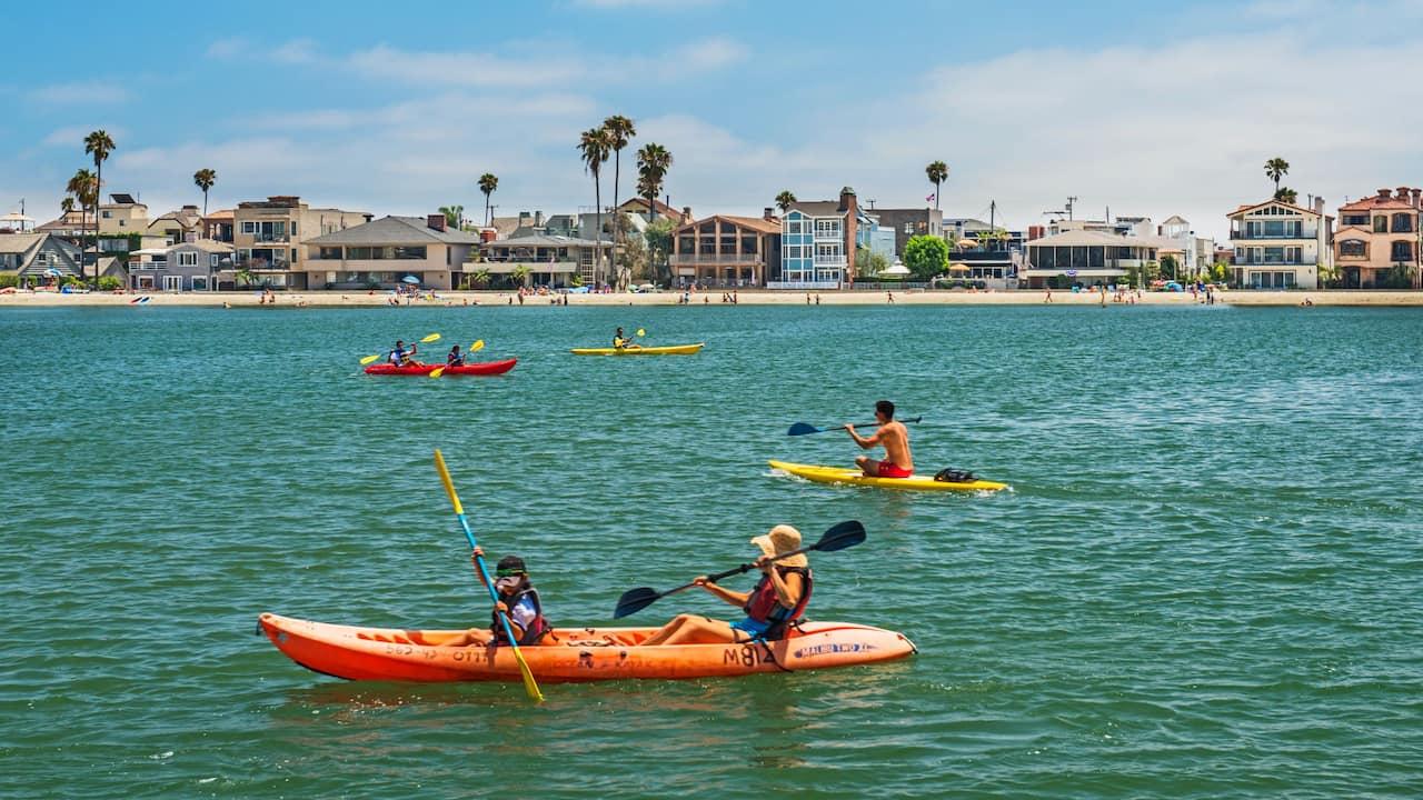 Long Beach Water Activities