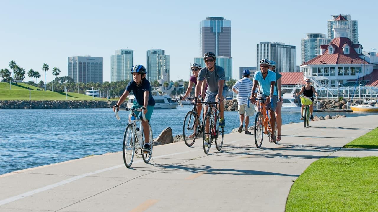 Long Beach Waterfront Bike Ride