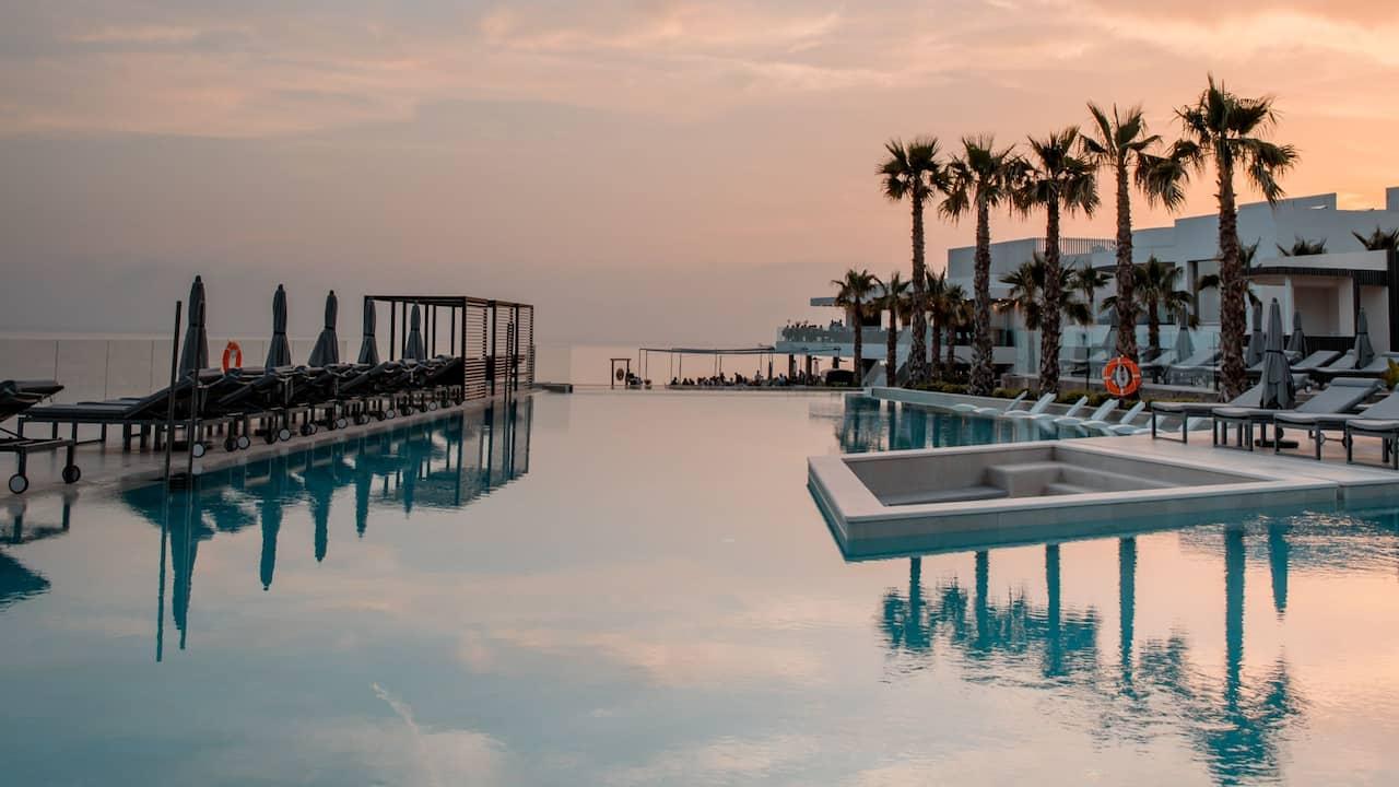 7Pines Ibiza Infinity Pool Cabanas