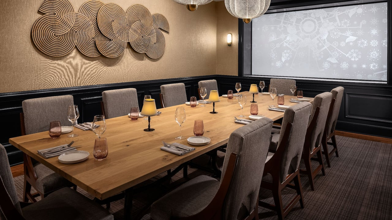 Private Dining Room View