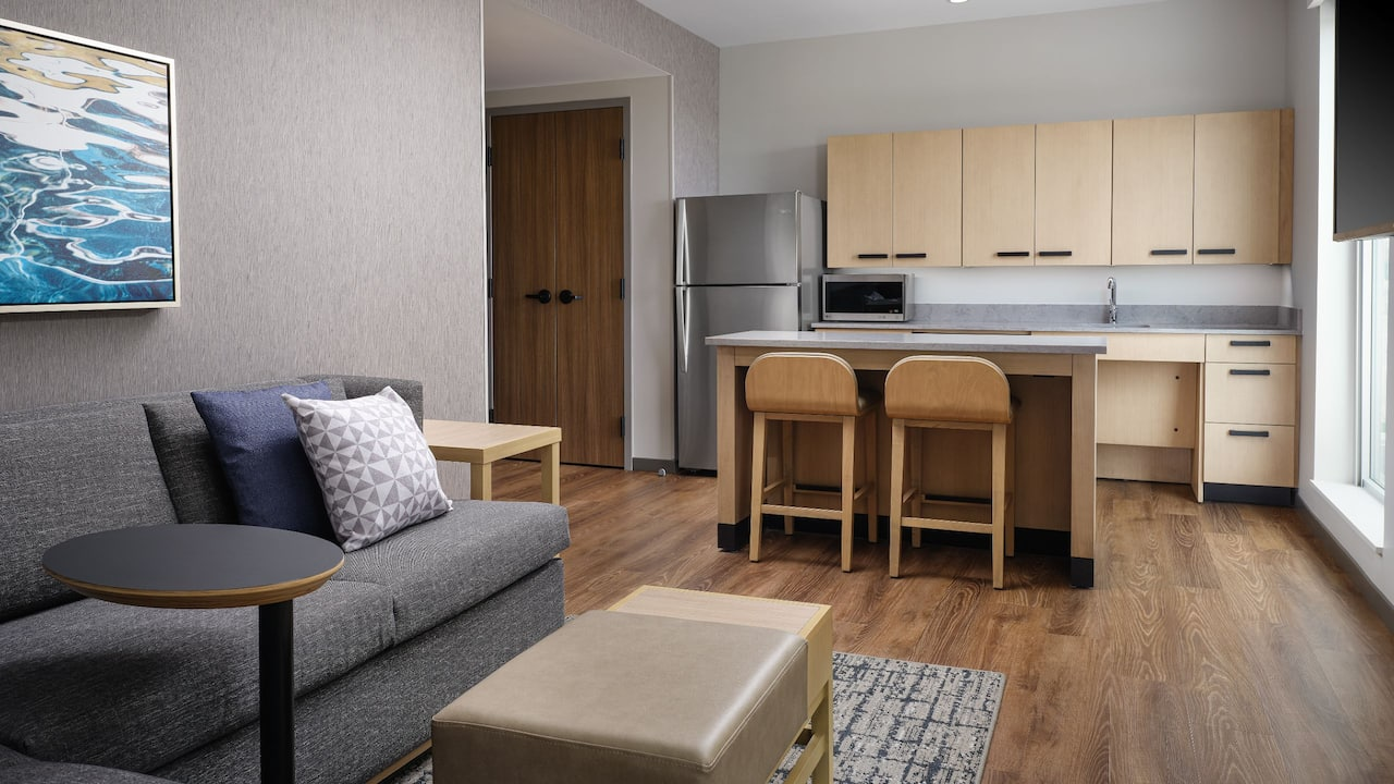 Accessible King Suite Living Room