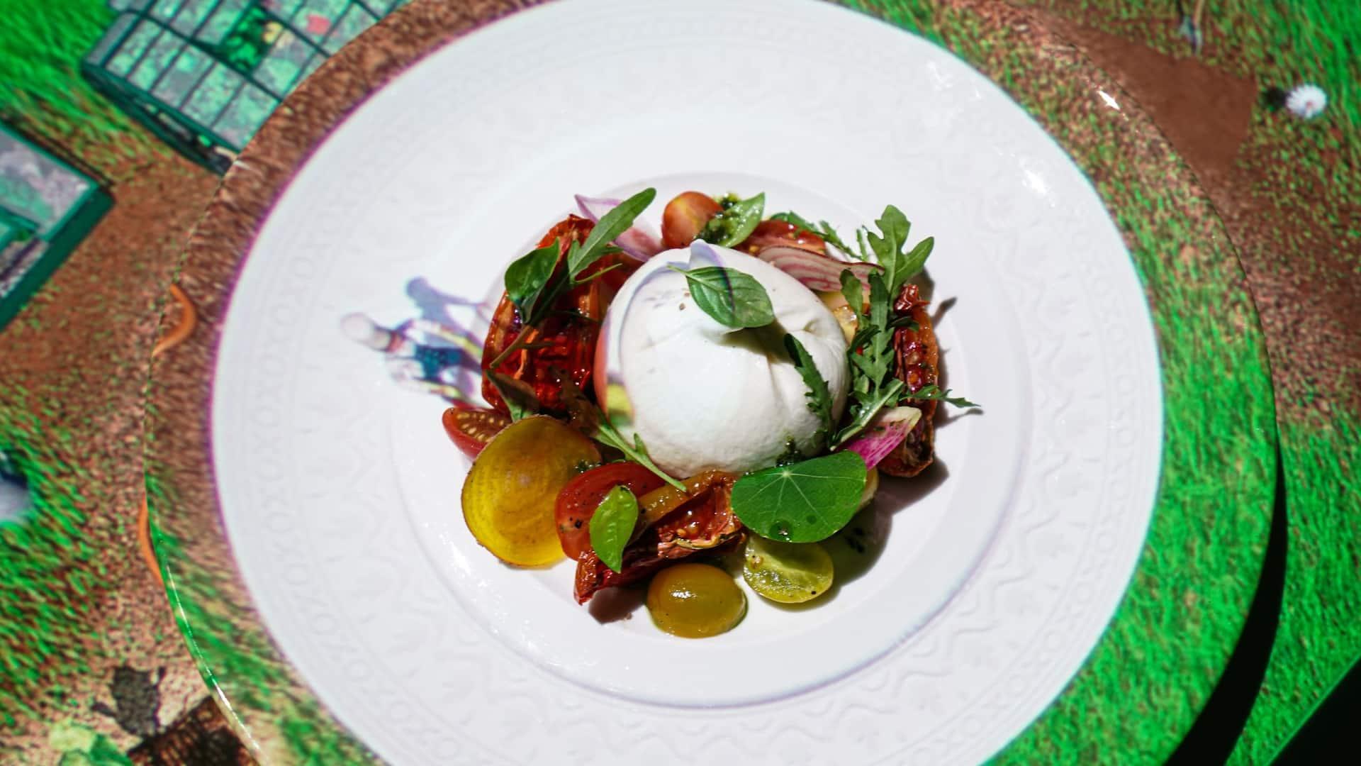 Grand Hyatt Bali Le Petit Chef Dining Experience