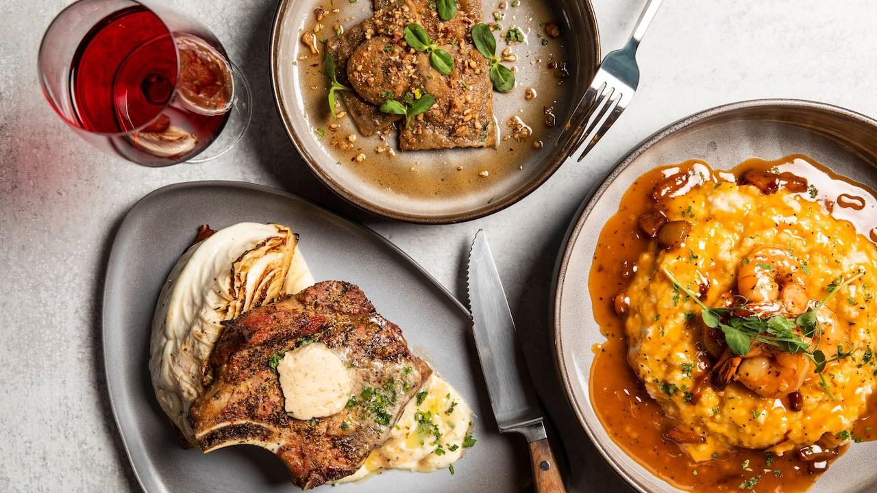 The Nashville Grange Dinner Spread