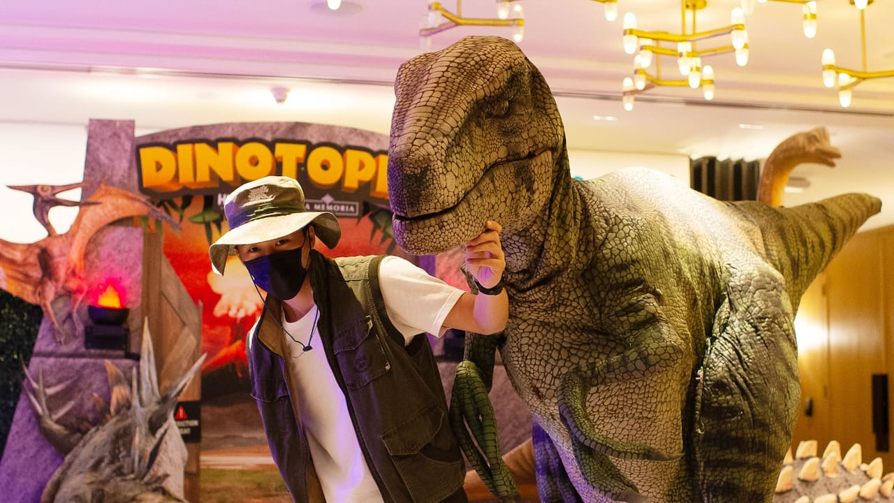 HYdeout: Dinotopia (Family-friendly Themed Buffet)