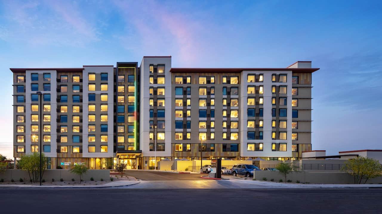 Hotel exterior at Hyatt House North Scottsdale