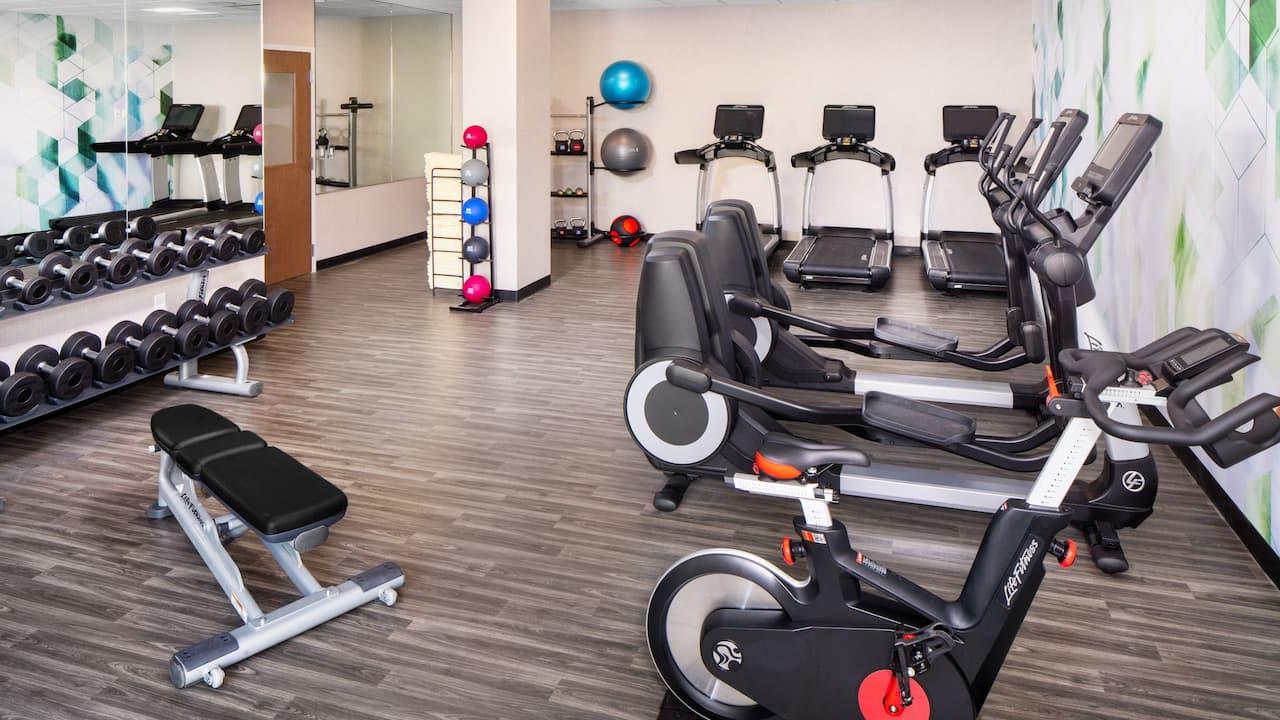 Fitness center at Hyatt House North Scottsdale