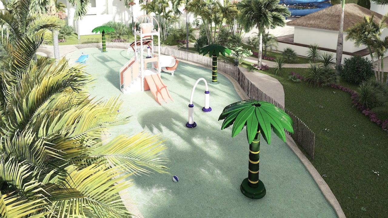 Water Park Splash Area