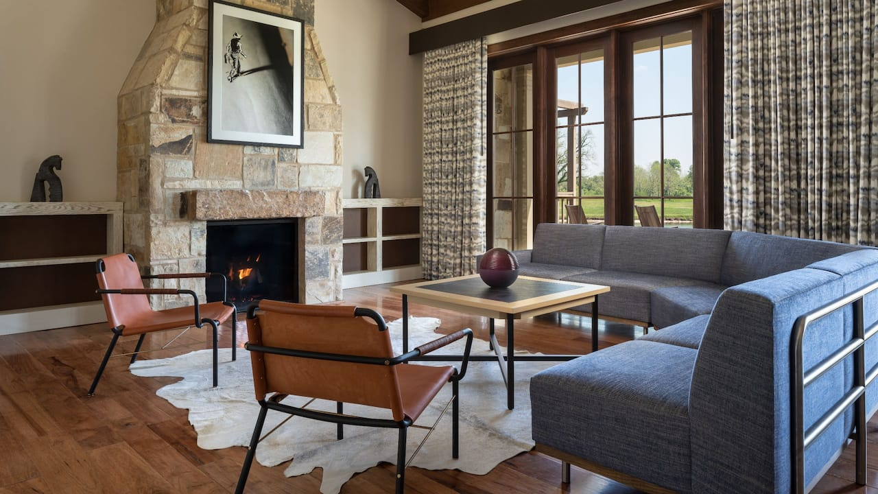 Litton House Living Room Fire Place
