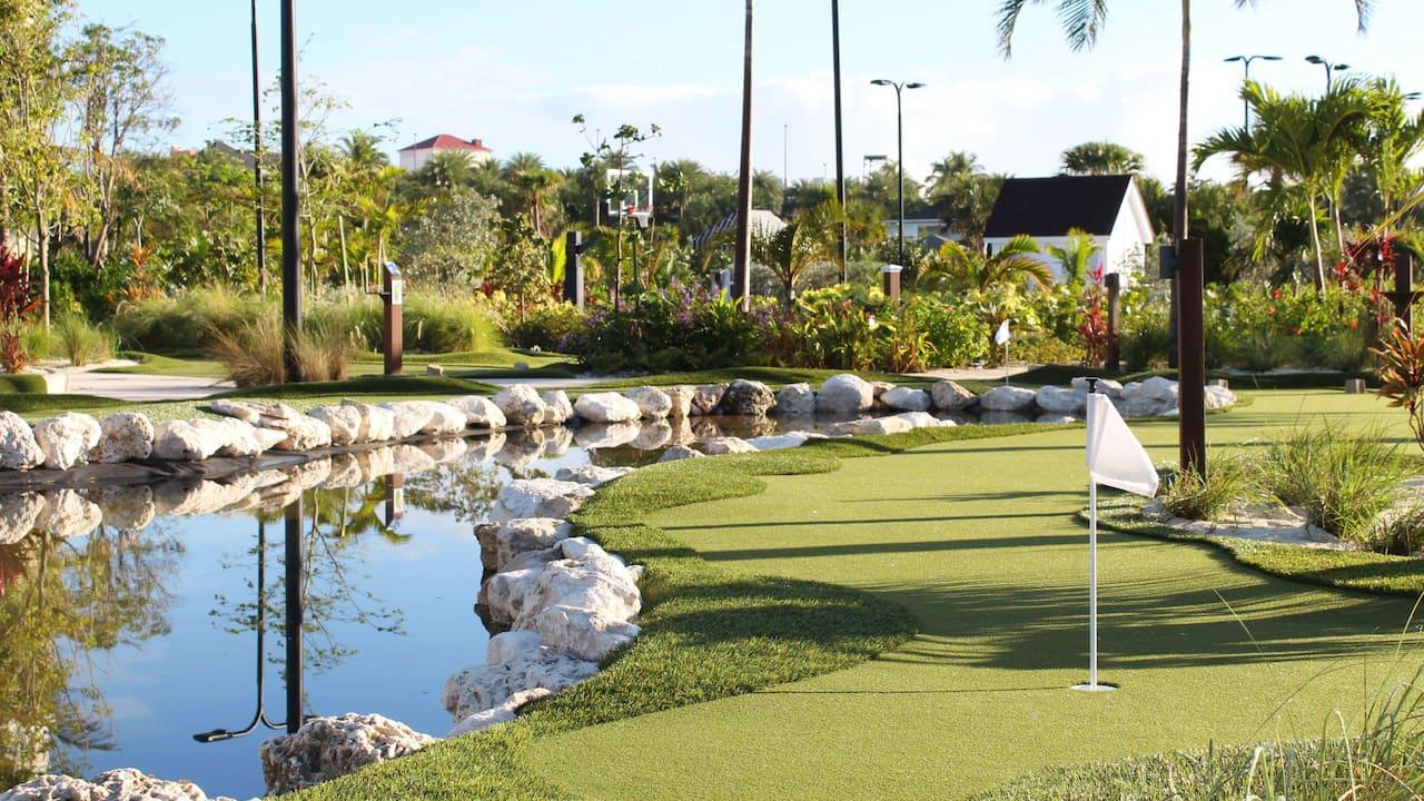 Mini Blue Golf View