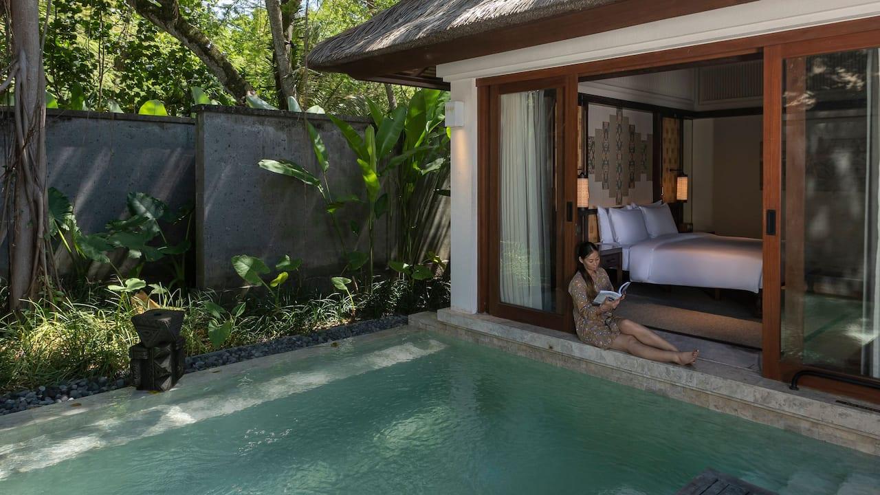 Overlooking to Garden Villa at Andaz Bali