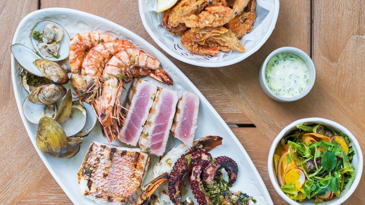 Seafood Platter at Fisherman's Club