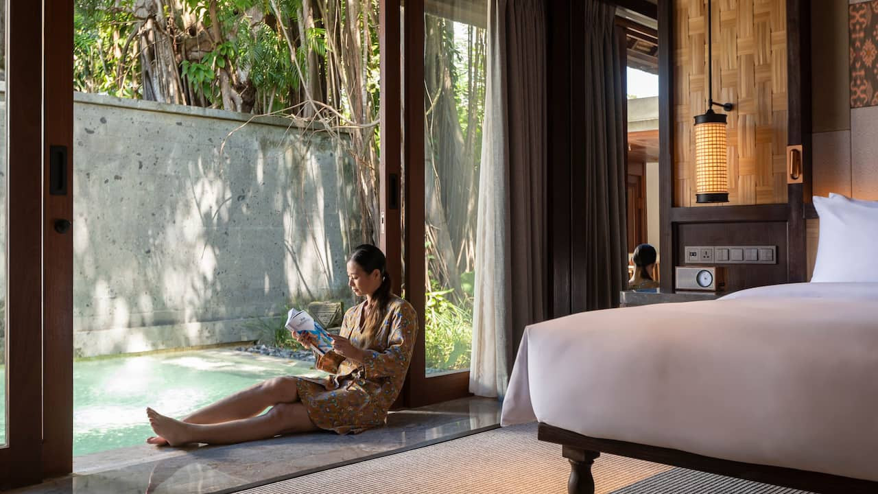 Garden Villa Pool at Andaz Bali