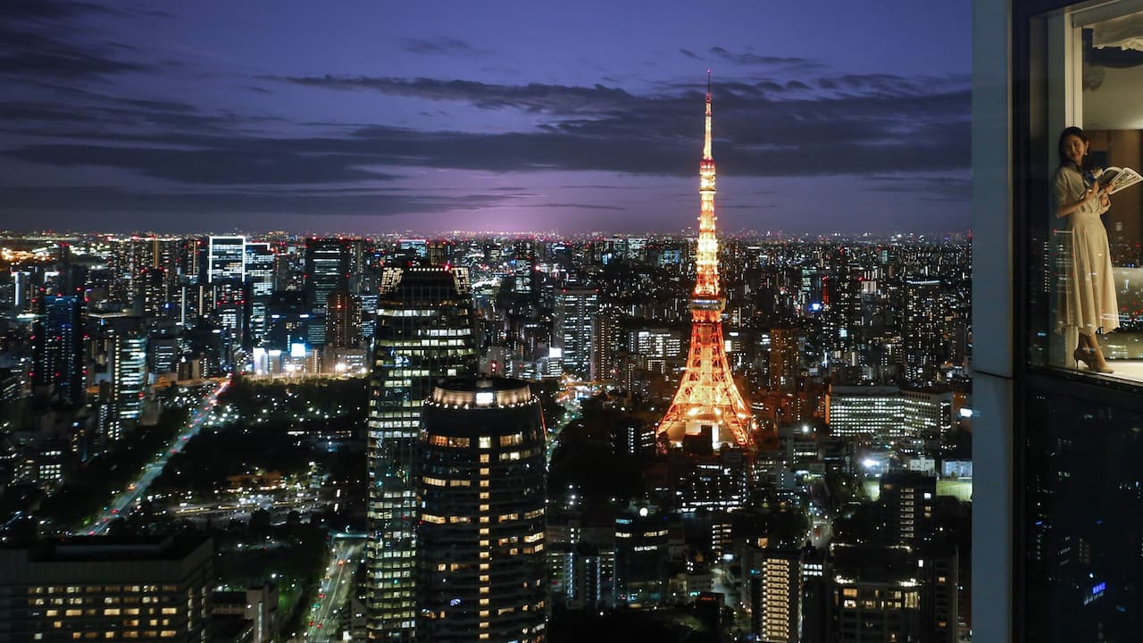 Andaz Tokyo Toranomon Hills Bay View Suite Tower Guest