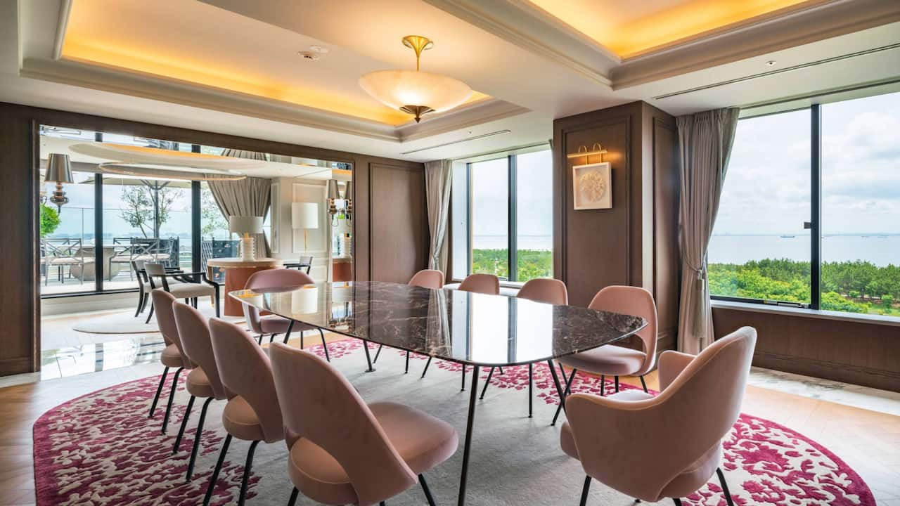 Chairman Suite Dining Room
