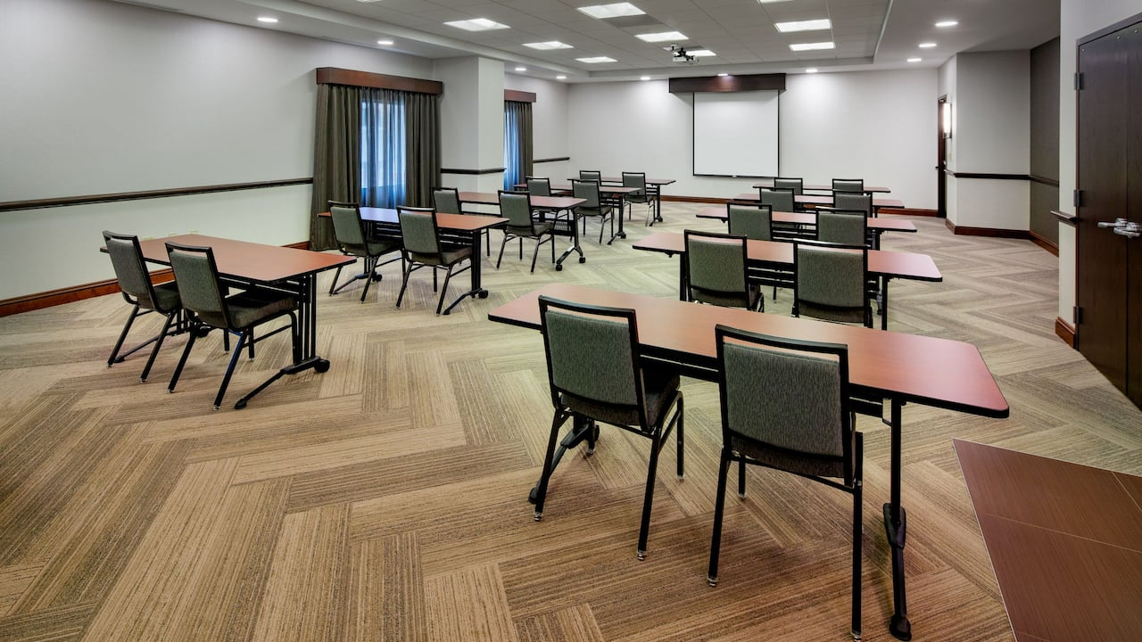 Hotels in Downtown Madison with Meeting Space set Classroom Style at Hyatt Place Madison /Downtown