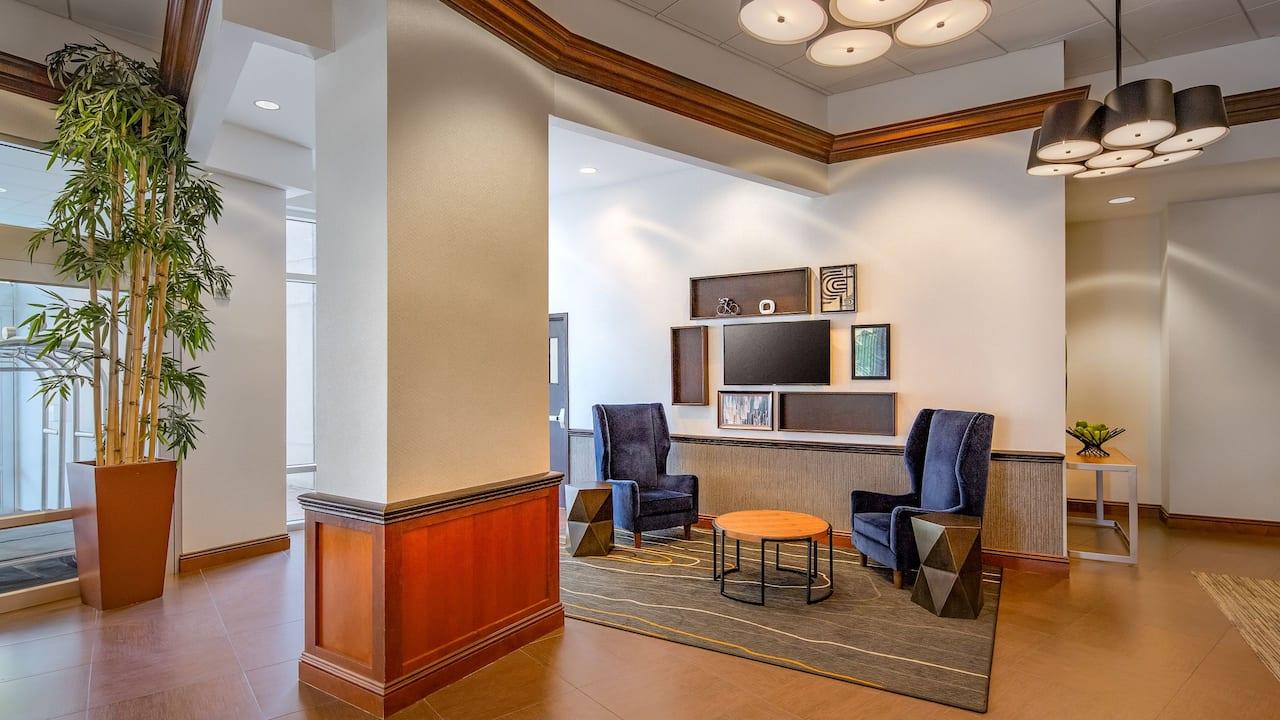 Lobby Chairs TV