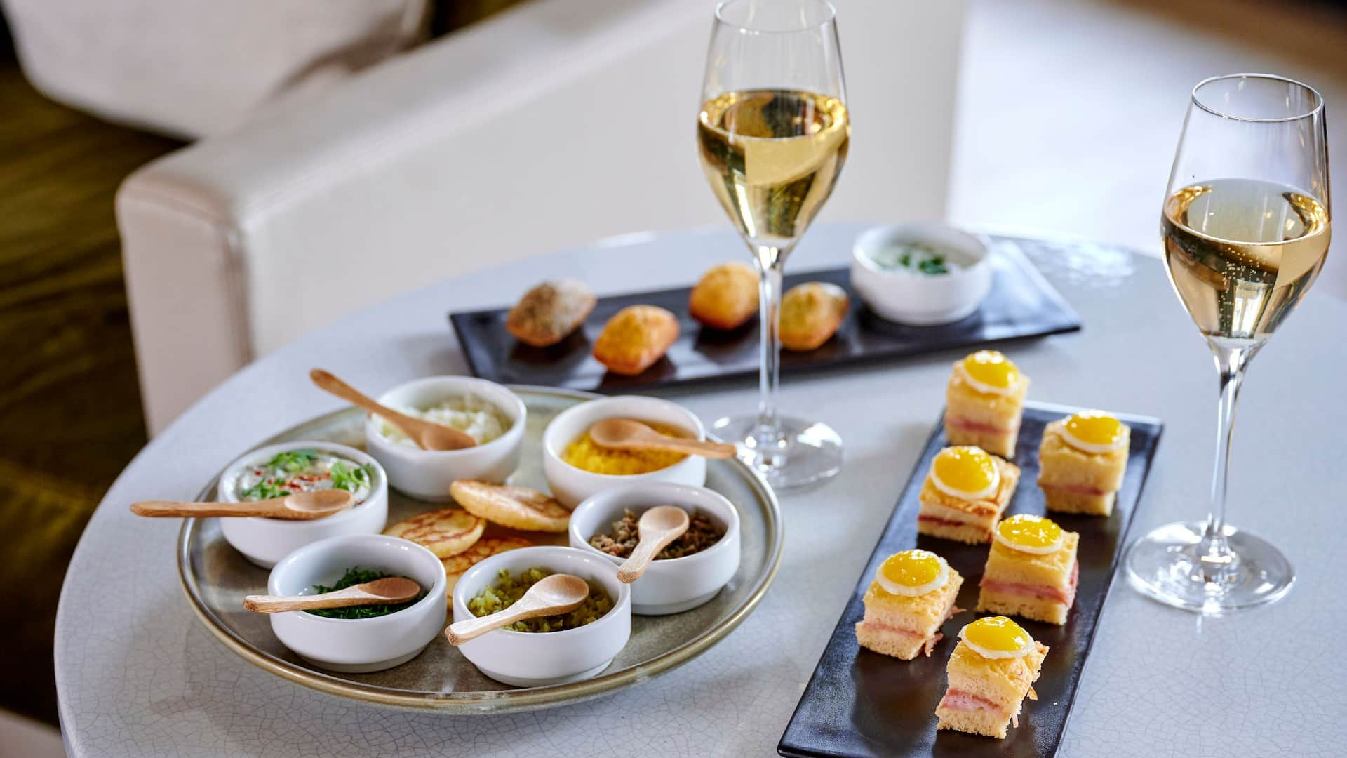 Parisian Apero Appetizers at Hotel Hyatt Paris Madeleine