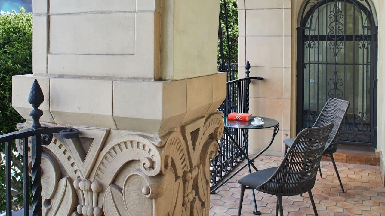 Figueroa Suite Balcony