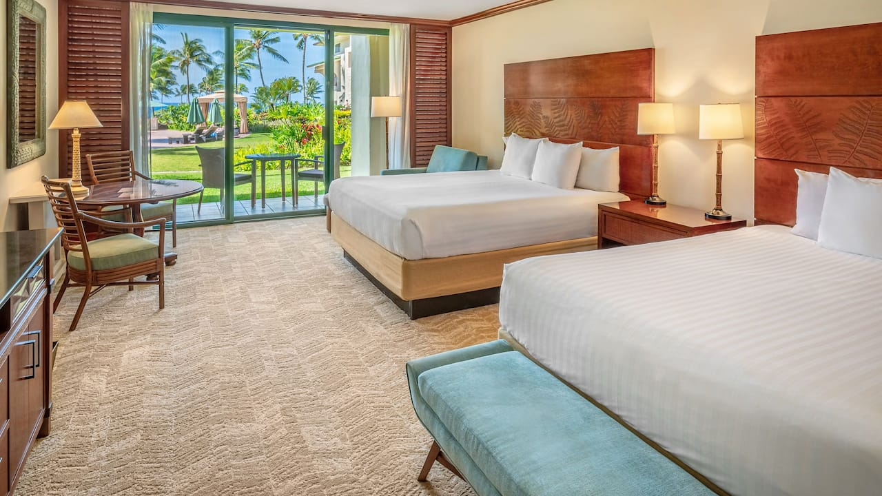 TWO BED POOL VIEW ROOM