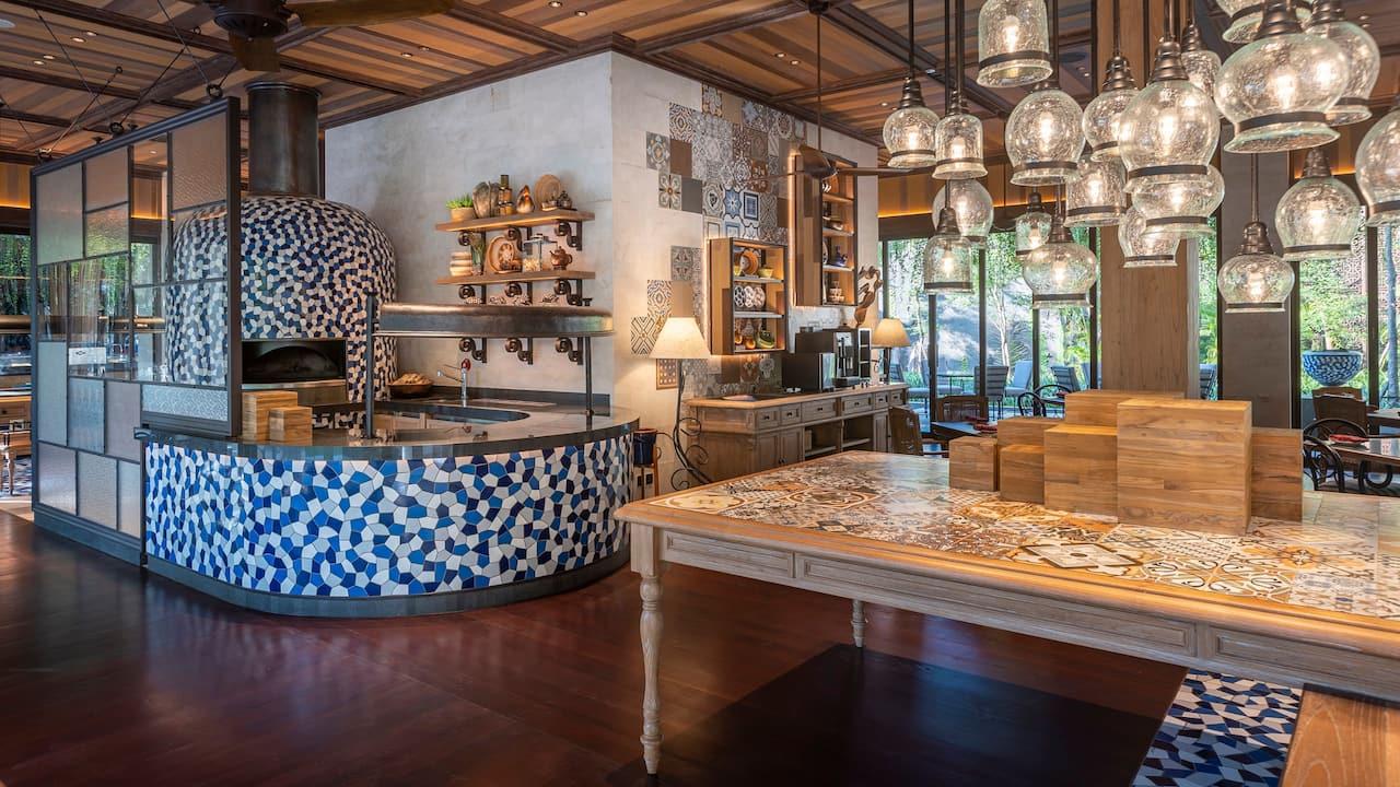 Blue Oven, Mediterranean restaurant, Sanur Bali