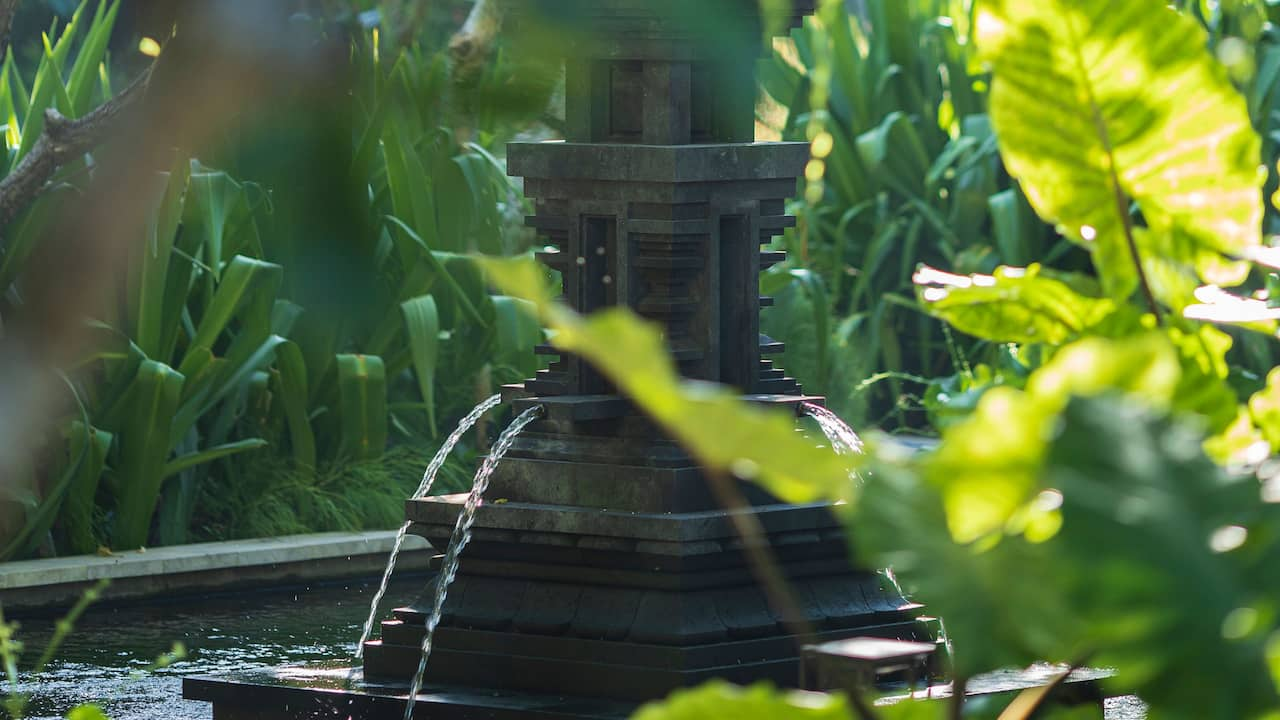 Water Feature at Andaz Bali, Sanur